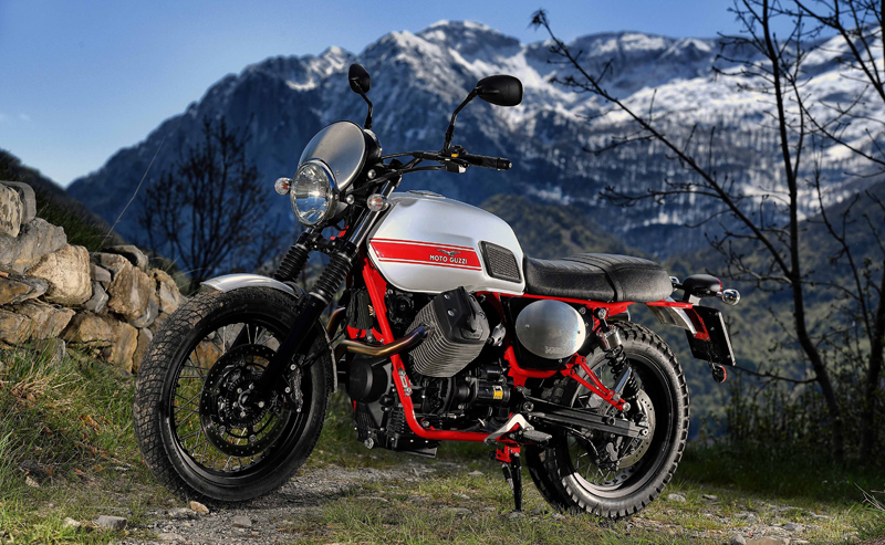 MOTO GUZZI V7II Stornello Totale links WEB